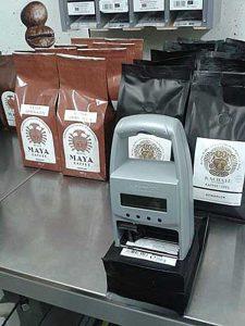 jetStamp 790 Kaffeebeutel bedrucken