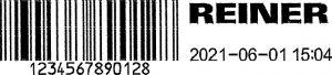 REINER jetstamp graphic Barcode drucken 2