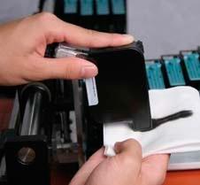Reinigen einer Tintenkartusche