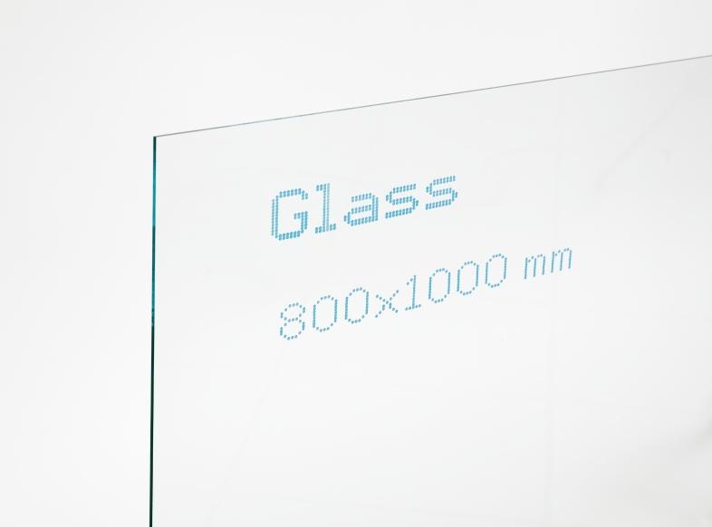 Glass bedrucken mit Handjet
