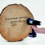 Holz bedrucken mit Handjet